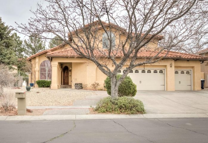 Custom Built & Immaculately Kept- 4 bed/4bath in Peppertree! Quality of construction & upscale amenities exude; radiant heat, wood windows, soaring ceilings, custom front door, central vac, etc! Main level has 2 living spaces, formal dining, kitchen w/ island & nook + 1 bedroom & 3/4 bath. MBR + 2 guest bedrooms upstairs- 1 w/ private view deck & all have on suite bathrooms! MBR has French Door entry, cathedral ceilings, separate office & leads into spacious MBA w/ HUGE walk-in closet. Hardwood floors & tile throughout- NO CARPET! Finished 3 CG has epoxy floors + extra storage. Well manicured yards w/ covered patio, shade trees, side access & she-shed! Located in the coveted Peppertree neighborhood w/ easy access to trails, grocery shopping, parks & A+ schools- schedule your showing today!