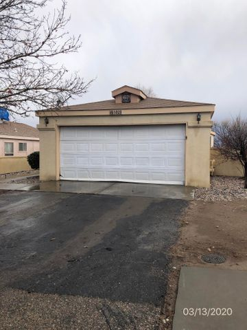 Single story 2 bedroom 2 bath 2 car garage on corner lot with mountain views.    Nice established neighborhood .  Interior needs flooring, paint and dry wall repair.  Potential here.