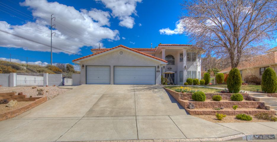 Altura Park Gem!! This Gorgeous Home is located in one of Albuquerque's most highly sought after neighborhoods. A Dream Home filled with beautiful highend finishes, this home has been completely upgraded!!! Large Open living spaces. Beautiful Chef Kitchen, Large bedrooms and a HugeMasterSuite with a Spa Like Master-bath!! Fully-landscaped with mature shade trees and a private backyard oasis...RV parking! And an oversized 3 car garage.Come see this Gem today!