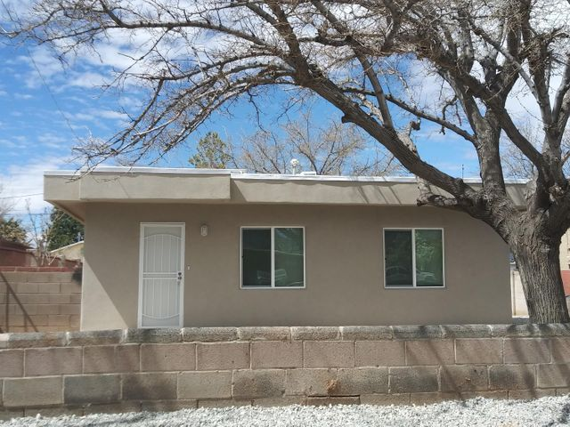 2 Bedroom 1 bath home. Move in ready. In 2020 the following updates were preformed: new windows, stucco, roof, heating, evaporative cooler and electrical panel. View home to see the attractive interior updates that have been made.