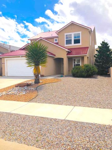 HOME INSPECTION IS BEING DONE FOR YOU TO SAVE YOU TIME AND MONEY! This modern 3 bedroom, 2.5 bathroom, two story home - offers lots of space and comfort and is located in a great neighborhood for the savvy Buyer that recognizes Value. Welcome home to this roomy 2,252 square foot home in the Los Milagros Subdivision. Prestige curb appeal with the convenience of a 2 car attached garage. Pitched pro-panel roof adds to the traditional attractive look and the low maintenance front yard is perfect for an easy lifestyle. The walled in back yard adds privacy and is ready for your backyard BBQ's and gatherings equipped with a custom fire-pit, covered portal, gardening space or room for your four legged friend! VIRTUAL TOUR COMING SOON.