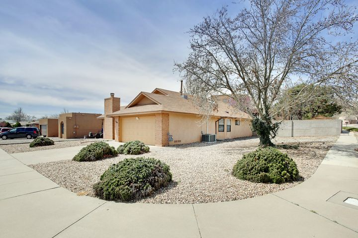 Situated on a large corner lot with back yard access possible on this Opal Jenkins beauty.  Some newer flooring throughout, brand new front door and screen door.  Newer Pella windows, tankless water heater, dishwasher and all new blinds in 2017.  Samsung Washer & dryer can convey too. This home is really nice and ready for a new buyer.