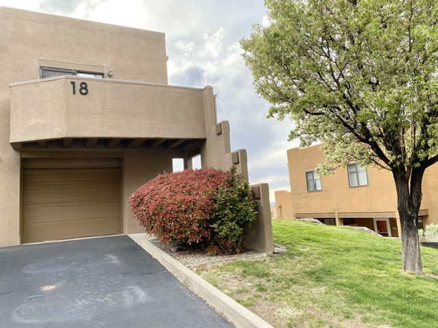 Beautiful condo conveniently located close to the picturesque Sandia foothills! This HUD home qualifies for only $100 down payment for FHA buyers! Equal Housing Opportunity. HUD case #354-018718 / listed IN (meets FHA minimum property standards in present condition). HUD homes are sold AS-IS w/all faults; no pre-closing repairs or payments will be made for any reason. Home eligible for FHA 203K financing (when buyers can borrow more than price to renovate to their desire). Outstanding possibilities! For Utility Turn Ons: Buyer pays all fees to get utilities on with accepted bid. Approval must be granted by HUD's field service manager. Property Condition Report and Discl available but not to replace home inspections. To submit bids visit HUD Home Store.