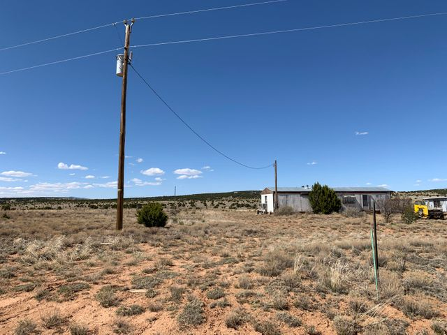 Ready to get out of the busy city and enjoy those beautiful NM skies? This is a opportunity too good to pass up. This 7.5 acre parcel in Moriarty is ready for a new owner. Electricity and water are already connected!