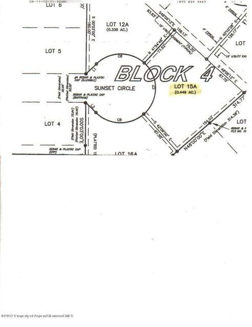 Tbd Sunset Circle Craig, Co 81625 - MLS #: 127113
