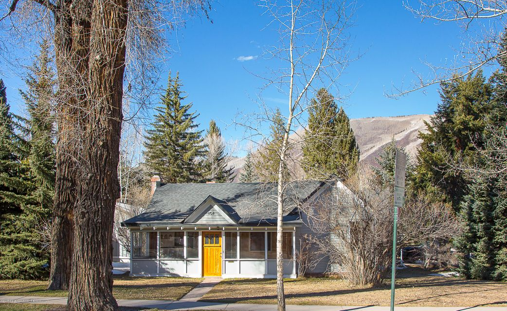 Rare offering on Main St. Aspen. Development and/ or live work opportunity