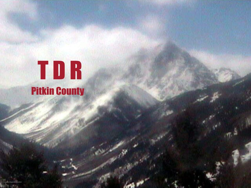 TDR Pitkin County T D R Carbondale, Co 81623 - MLS #: 150244