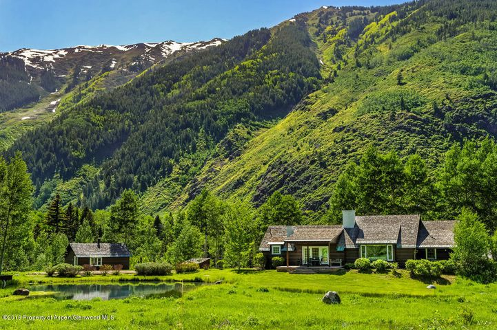 5387 Castle Creek Road, Aspen, CO 81611