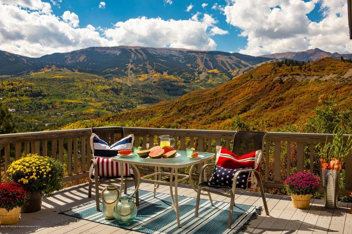 Gorgeous year-round views of Snowmass Ski Area and surroundings.