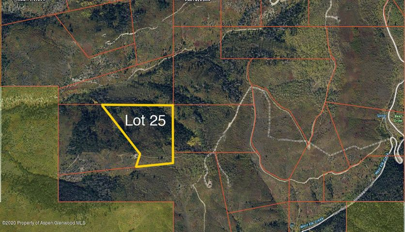 Lot 25 TBD West Elk Creek Ranch, New Castle, CO 81647