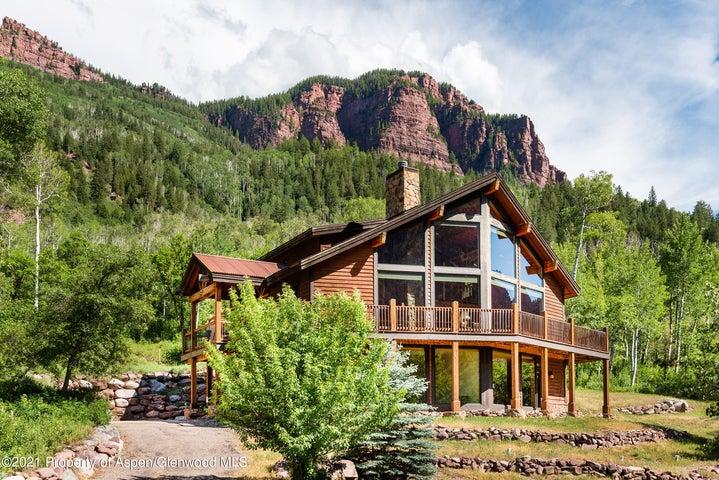 100 Mountain Lion Drive, Redstone, CO 81623