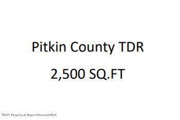 TDR Pitkin County, Aspen, CO 81611