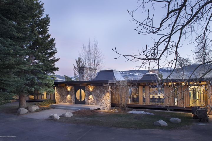 Renovations for this magnificent contemporary estate started in 2014 and were completed in 2015. The architects were recognized with a 2015 Architect Choice Award from the American Institute of Architects Denver Section (AIA Colorado). Upon entrance, you are greeted with sophistication by way of lavish design and luxurious furnishings. Entertain with indoor formal dining for 12, or enjoy the fresh mountain air outdoors, with seating also accommodating 12. Two expansive glass walls open in the living and dining rooms for an indoor /outdoor living experience. Indulge in an evening soak in the outdoor hot tub, or relax in luxury in the opulent master suite. 2016 seven-passenger Cadillac Escalade SUV available for rent directly from the homeowner.