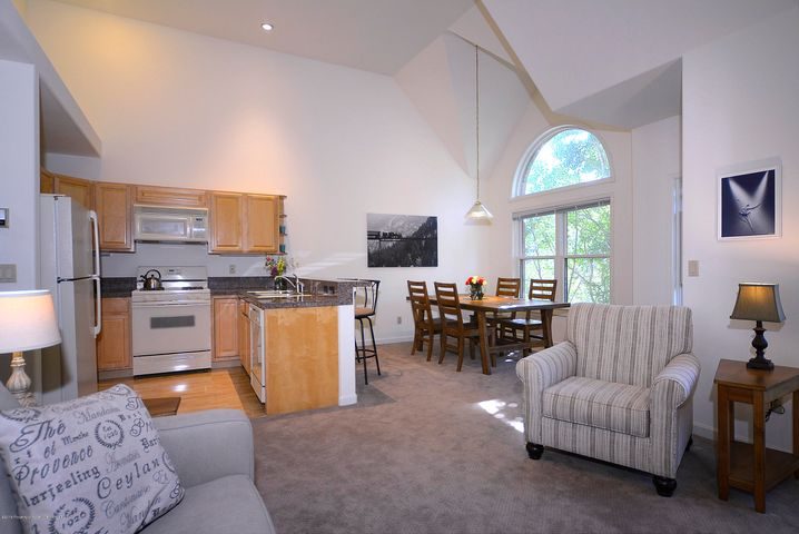 On the confluence of the Frying Pan and the Roaring Fork, this top floor two-bedroom, two-bathroom Gold Rivers condo is your in town oasis. A semi-private one car garage with a oversized storage area makes a great place to have your outside toys nearby.  Nestled in the treetops and steps from the vintage charm of downtown Basalt, you can walk to shop and eat at many fine retails stores. Recently remodeled with many upgrades. Experience the convenience and unique feel this irresistible condo!HOA quarterly payment of $1406.00. In addition to the HOA dues there is a $222.00 quarterly on-going Capital assessment.