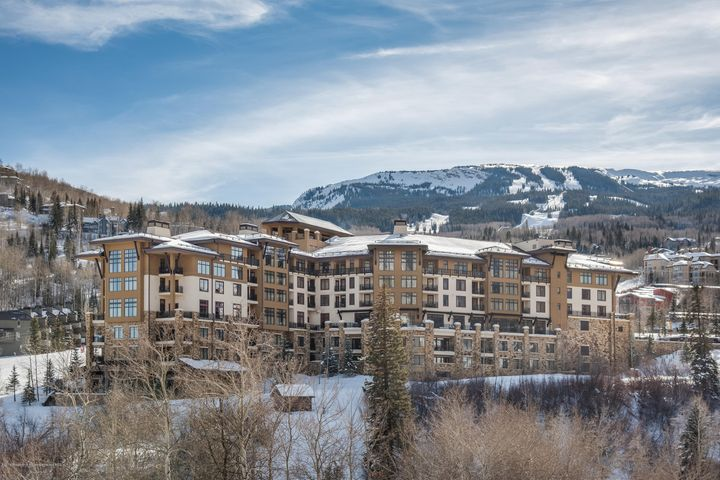 A spacious one-bedroom residence with a unique and open floorplan at the premier ski-in/ski-out hotel in Snowmass Base Village. Enjoy full ownership of this turnkey condo with up-mountain views towards the ski slopes and a soon-to-be fully updated interior including furnishings, fixtures and carpet; to be paid in full by seller. Features include an oversized bathroom with separate tub & shower, in-unit washer/dryer, extra closet space, and kitchenette with refrigerator, microwave, and cook top. Four-star hotel amenities include valet service, concierge & onsite management, upscale restaurant & bar, heated pool, luxury spa, fitness center, shuttle service and more. Lots of flexibility for owners to use full-time or part-time with plenty of rental options to generate additional revenue.