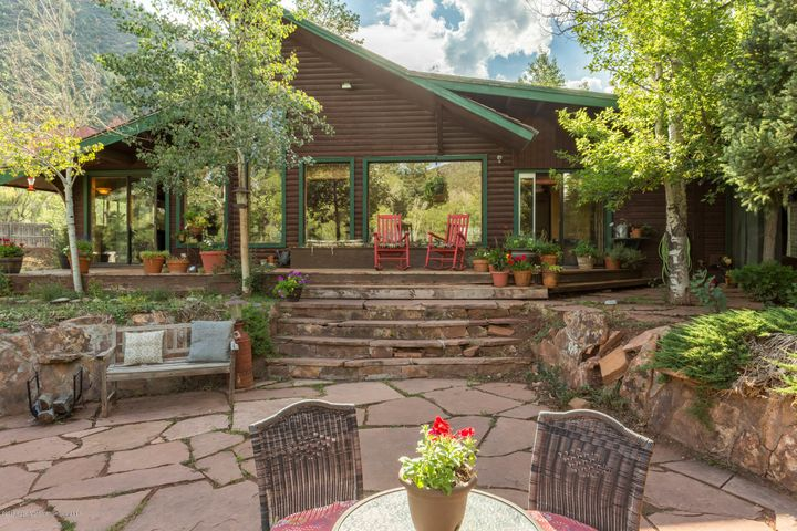 Charming 2 bedroom, 2 bath, 1373 square foot cabin along the Roaring Fork River. This property is livable as it is, or one could renovate or rebuild. Close proximity to Aspen, Snowmass and Basalt.