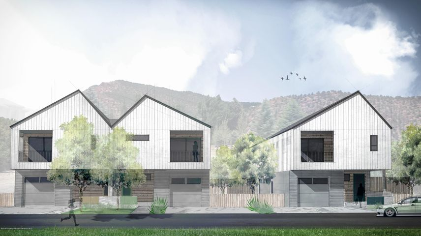 Brand new single family home within walking distance of downtown Carbondale and on the Rio Grande Trail.  This contemporary 4 bed, 3.5 bath townhouse has unobstructed views of Mt. Sopris.  Completion scheduled for mid to late September 2019..  See docs for floor plans.   Taxes TBD and subdivision to be finalized prior to CO.