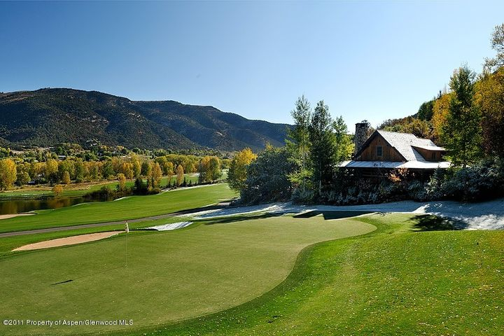 This two story cabin features majestic and wide open views overlooking the Roaring Fork Club golf course, Roaring Fork Valley and Basalt Mountain. Located at the 11th green and set back from the cart path, this cabin is quite private. Nicely appointed and including all the amenities of the Roaring Fork Club, this is a great opportunity.