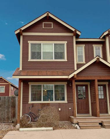 Your Carbondale home awaits you. This spacious and well-maintained home features 3 bedrooms 3.5 bathrooms, a finished basement, an open floor plan, updated appliances, large windows, 10x10 storage shed, side yard with new lawn sprinklers, two parking spots, and Mt. Sopris views from the master bedroom. Well-located near the Rio Grande bike path and in close proximity from all that Carbondale has to offer. Energy efficient - Utilities: $33 Electric avg/month and Gas $49 avg/month (last 12 months).