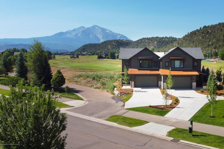 Completion in the Summer of 2021. This beautiful townhome is in the Fairway Residences neighborhood.  Offers breathtaking views of Mt. Sopris, as well as the #6 and #7 fairways.  This spacious townhome features an open floor plan with classic and clean finishes, beautiful tile selections, warm wood flooring and upscale appliances and fixtures to complete your designer-inspired home.  With attention to every detail, these residences were created by a remarkable team of an architect, designer, and developer. Surround yourself with maintenance-free living, walk to town or enjoy the amenities of The Ranch House Swim & Tennis Center at River Valley Ranch. Information subject to change. **These pictures are from 3700 new construction which is a similar design*