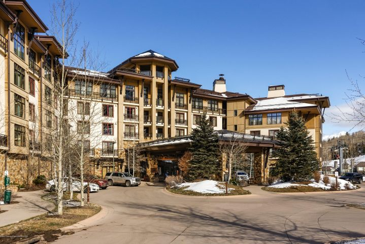 Amazing ski in/ski out whole ownership opportunity in the 4 star resort named Best Ski Hotel by USA Today. This property just completed a $4 million renovation including an elegant lobby with coffee bar, two new restaurants, updated fitness center and more! Additional amenities include luxury spa, heated pool, ski valet, complimentary valet/transportation services for owners, and concierge services to name a few.  This unit is fully furnished with a recently completed refresh, kitchen, cozy fireplace and soaking tub in spacious bath. Whole ownership with the opportunity of great rental income through successful on-site rental management programs should the owner choose to participate.  Enjoy this fabulous location steps away from the new Snowmass Base Village Plaza.