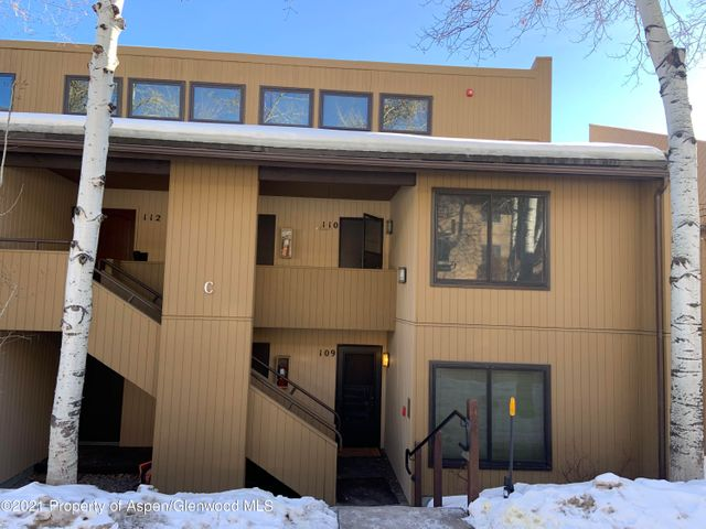 Great opportunity to own steps from the slopes and everything Snowmass Village has to offer. Spacious one bedroom plus loft which can easily be converted into a second bedroom.  Beautiful east facing views of the sunrise over the rockies. Private balcony. Washer and Dryer in unit. Low HOA dues.  Designated parking space and additional guest parking.  Convenient Village shuttle only steps away.  Amenities include pool and hot tub.