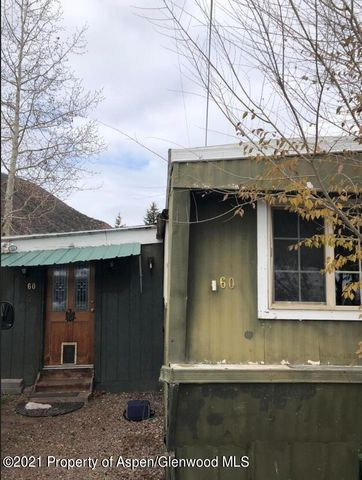 Perfectly situated between Aspen and downtown Basalt.  This three bedroom with bedroom (NEW closets constructed in bedrooms 2&3 ) with one bathroom is one of the most affordable places in Old Snowmass.Gated Back Yard and large outdoor storage with a patio and fireplace.