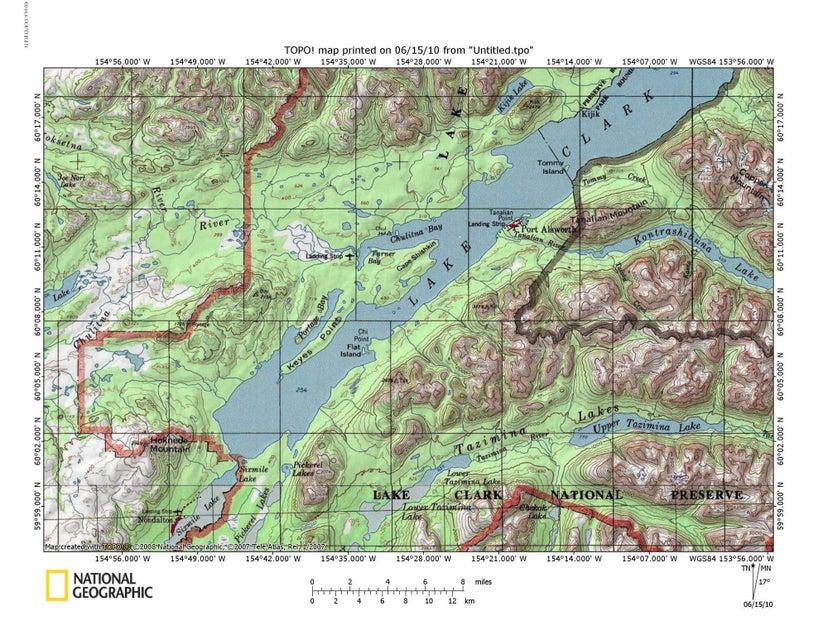Port Alsworth Alaska Map.Alaskarealestate Com Mls 16 10987 L4 B7 Keyes Point Port Alsworth