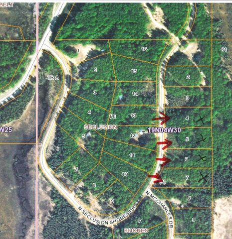 11311 N Seclusion Shores Drive, Willow, AK 99688