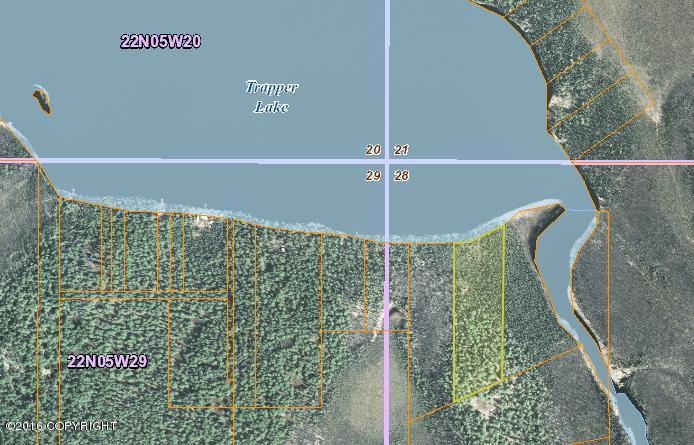 Tr B No Road, South Shore Trapper Lake, Willow, AK 99688