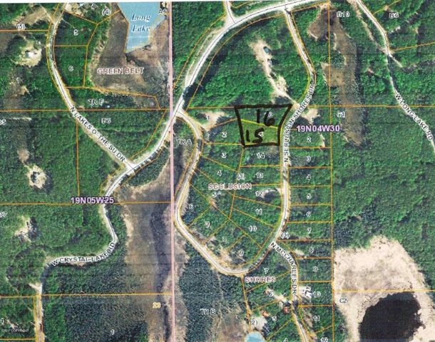 11376 N Seclusion Shores Drive, 11400, Willow, AK 99688