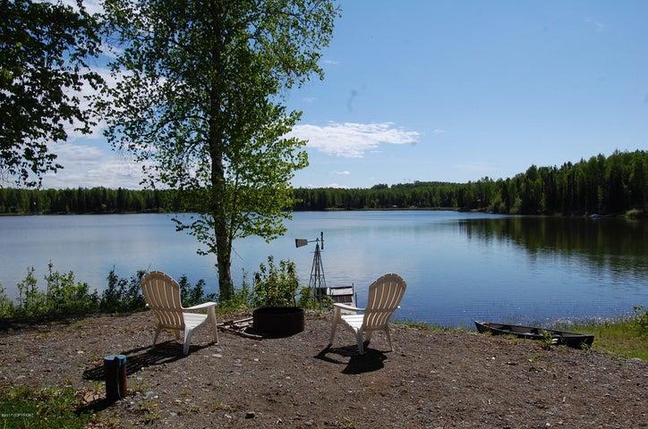 Property has beautiful setting on Willow Lake