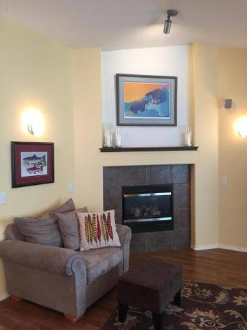 Very well kept and clean home. NG fireplace with accent area above.