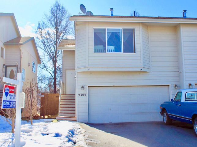 South Anchorage townhouse style zero lot line.