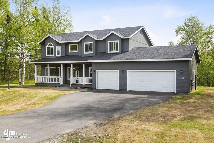 8290 E Magnificent View Drive, Palmer, AK 99645