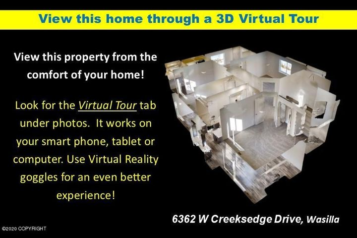 6362 W Creeksedge Drive, Wasilla, AK 99654
