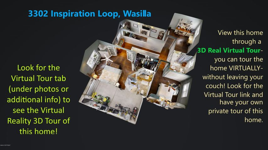 3302 N Inspiration Loop, Wasilla, AK 99654
