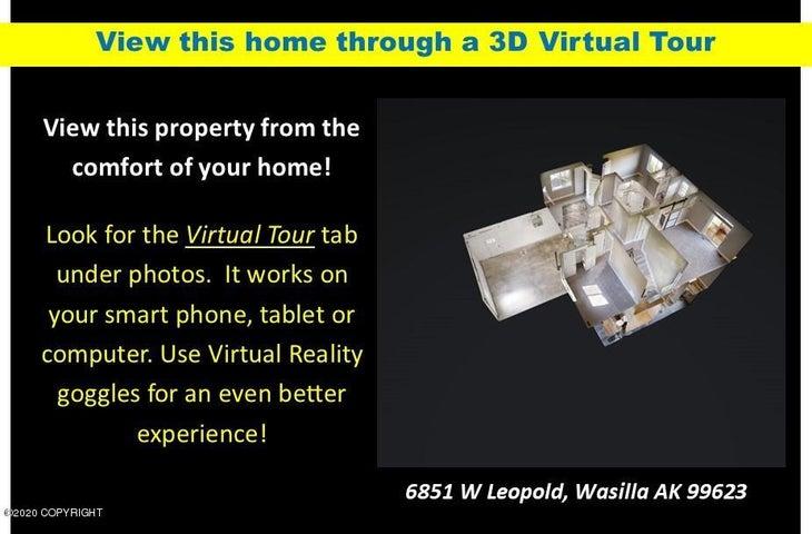 6851 W Leopold Loop, Wasilla, AK 99623
