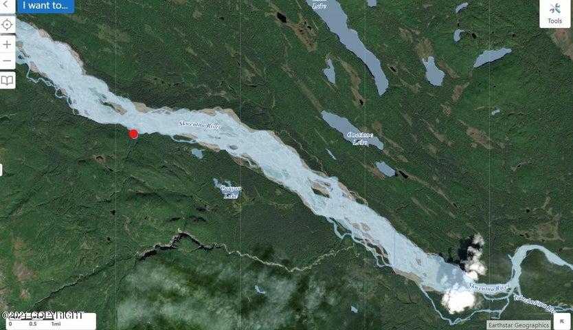 Tr A No Road, ASLS 76-223 Skwentna, Remote, AK 99000