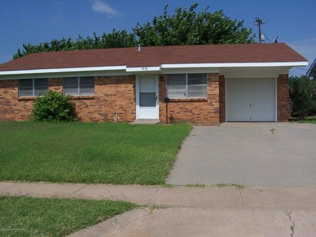 1516 Pellinore St, Borger, TX 79007