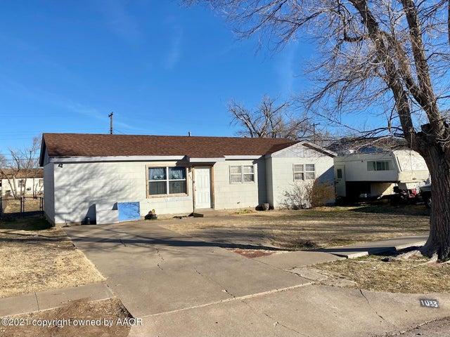 1033 BAGARRY ST, Amarillo, TX 79104