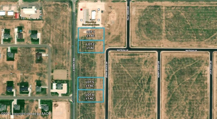 FM 2590 Tract 2, Amarillo, TX 79119