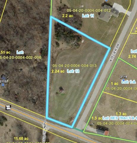 Lot 12 ATELIER Drive, Jefferson City, MO 65109
