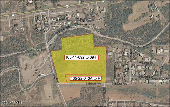 0000 MARY Drive Lot 3, Superior, AZ 85173