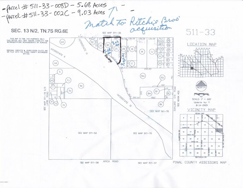 0000 W Hanna Road Lot 0, Casa Grande, AZ 85194