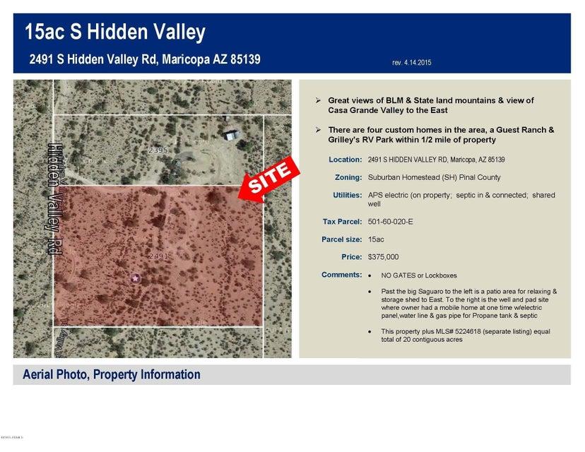 2491 S HIDDEN VALLEY Road, Maricopa, AZ 85139