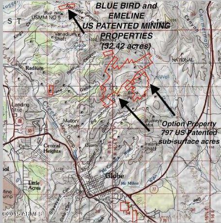 0000 E Bluebird & Emeline US Patented -- Lot 0, Globe, AZ 85501