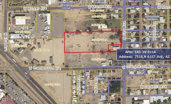 7524 N 61ST Avenue Lot 15, Glendale, AZ 85301