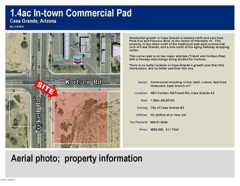 SEC Trekell and Kortsen Road, Casa Grande, AZ 85122
