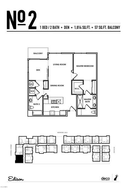 3131 N Central Avenue Unit 3001 Phoenix, AZ 85012 - MLS #: 5351444